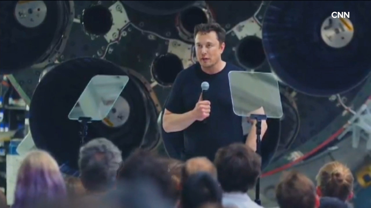 Elon Musk announces first SpaceX private passenger
