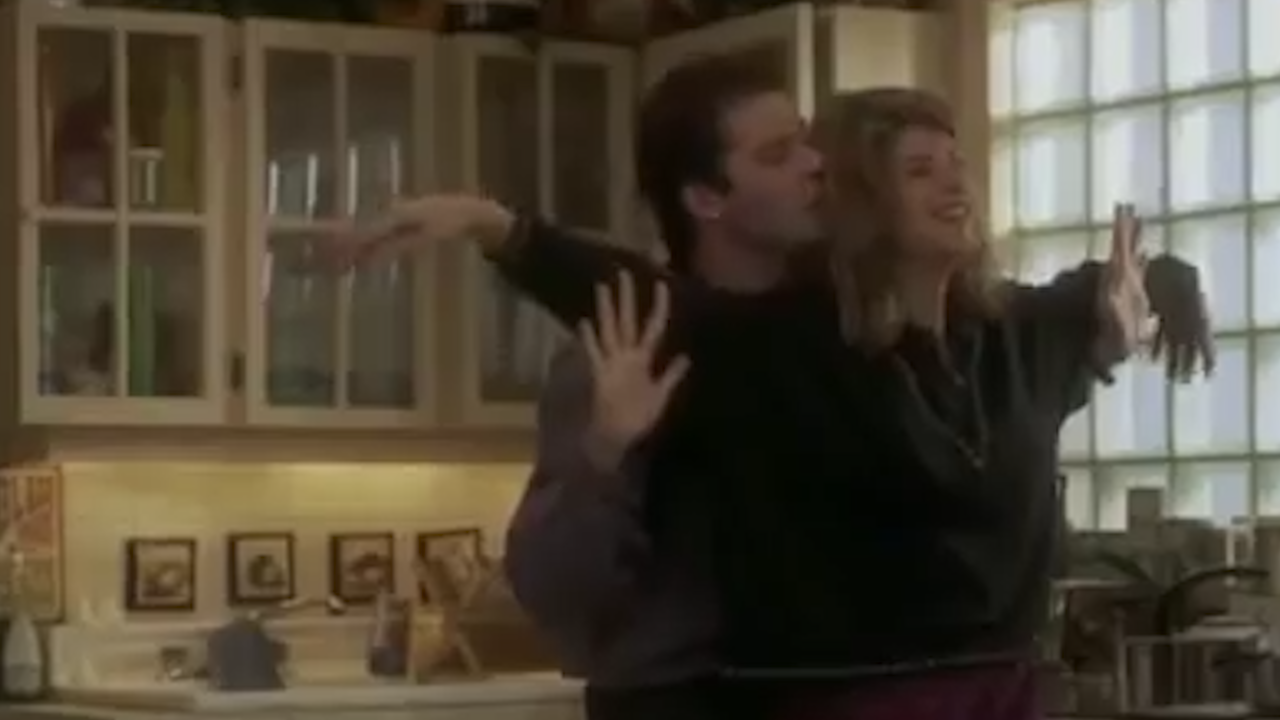 Kirstie Alley and John Travolta admit they have on-screen chemistry