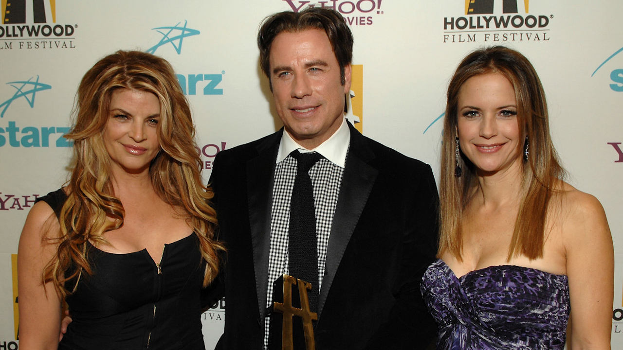 Kirstie Alley says she doesn't believe John Travolta is gay