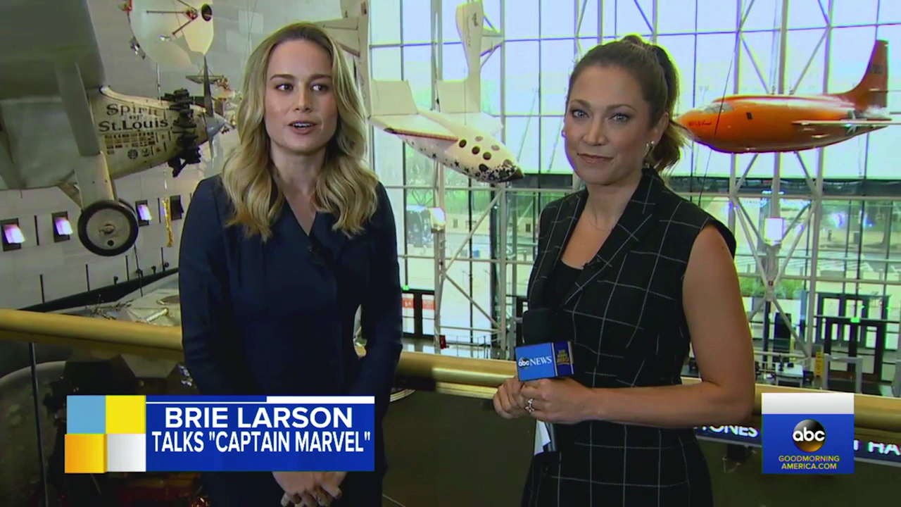 Brie Larson calls playing Captain Marvel 'sureal'