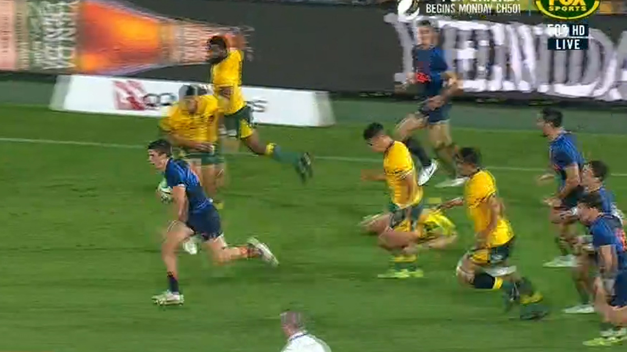 Wallabies literally sink to new low