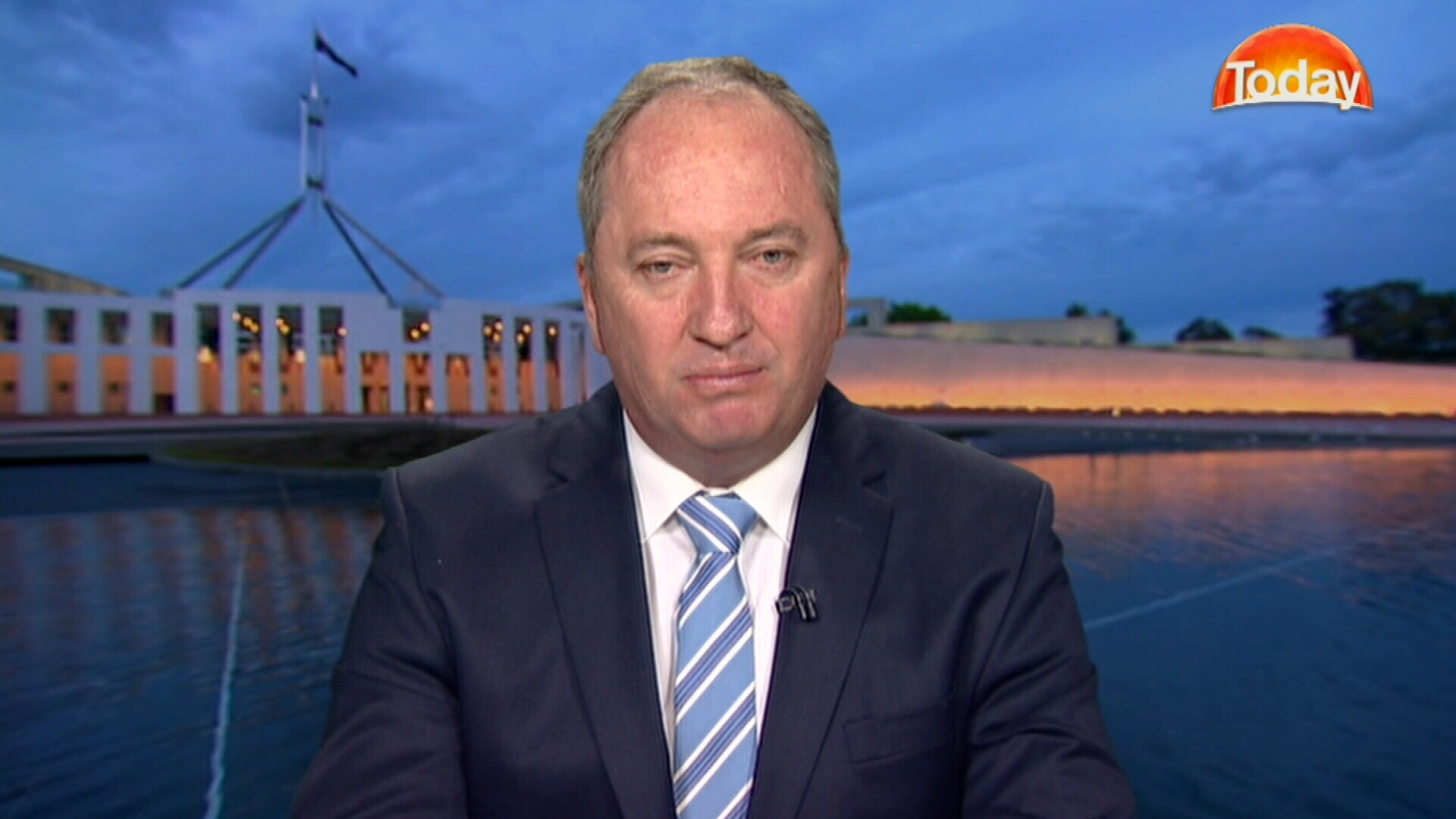 Barnaby Joyce on TODAY