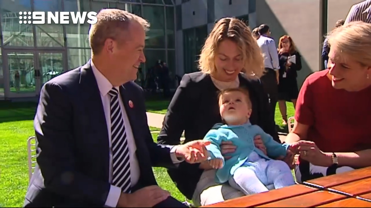 Bill Shorten to boost superannuation for pregnant mothers