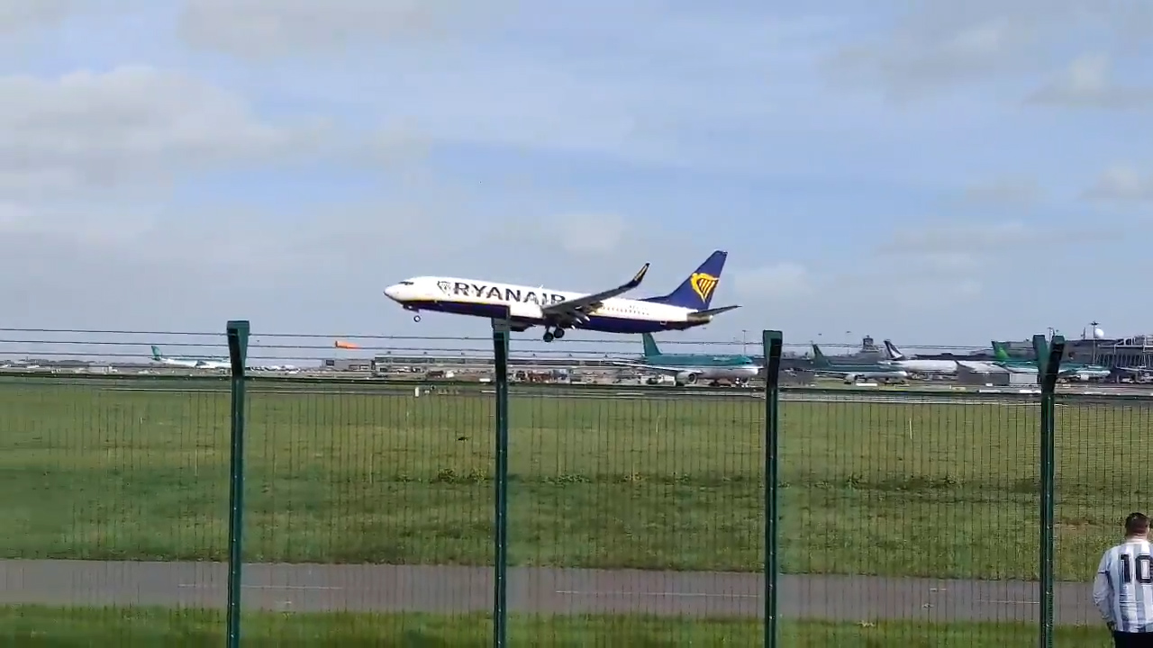 Plane scare as Storm Ali hits Ireland and UK