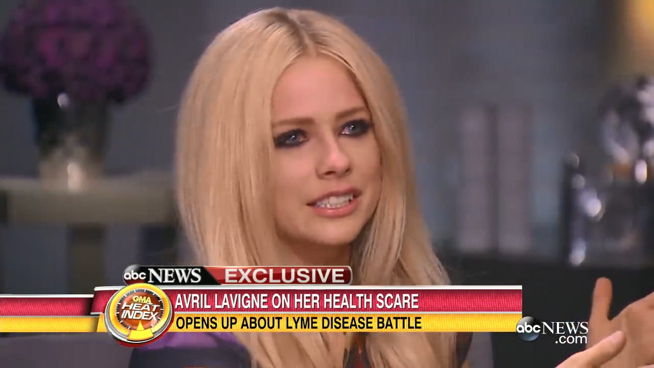 Avril Lavigne opens up about her battle with Lyme disease