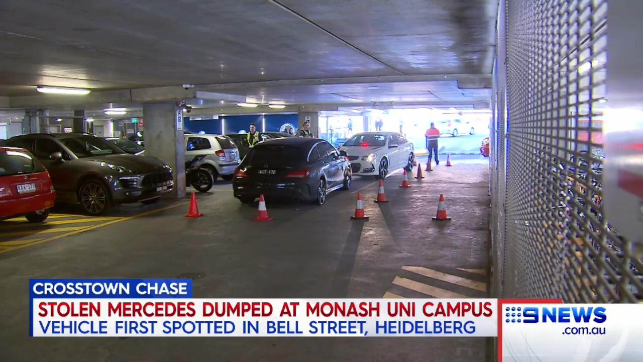 Police search Monash University campus