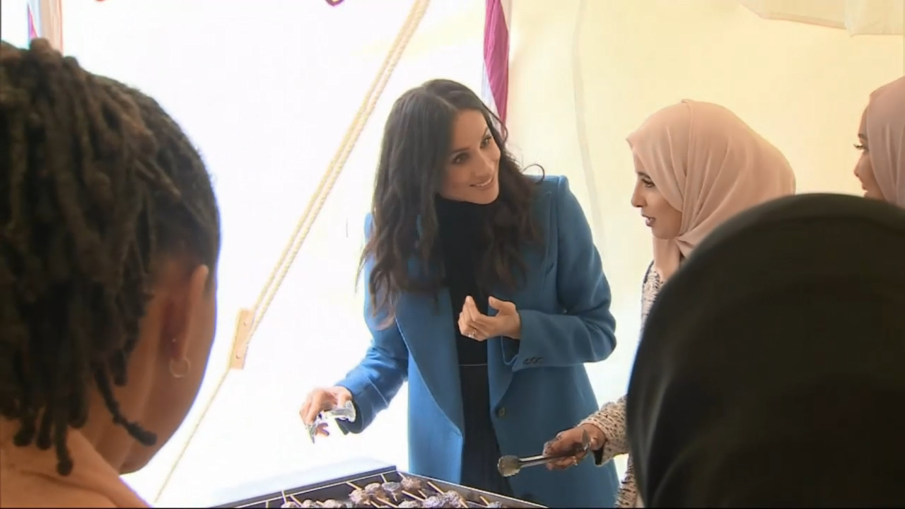 Meghan Markle launches charity cookbook