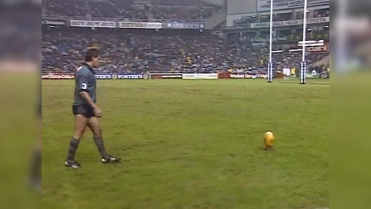 O'Connor's match winning conversion