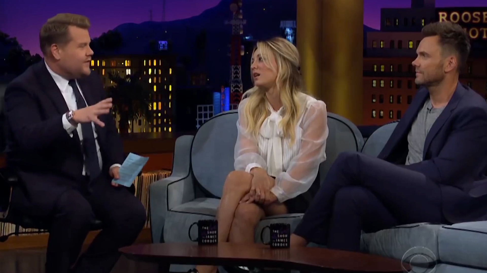 Kaley Cuoco says she's heartbroken 'The Big Bang Theory' is coming to an end.