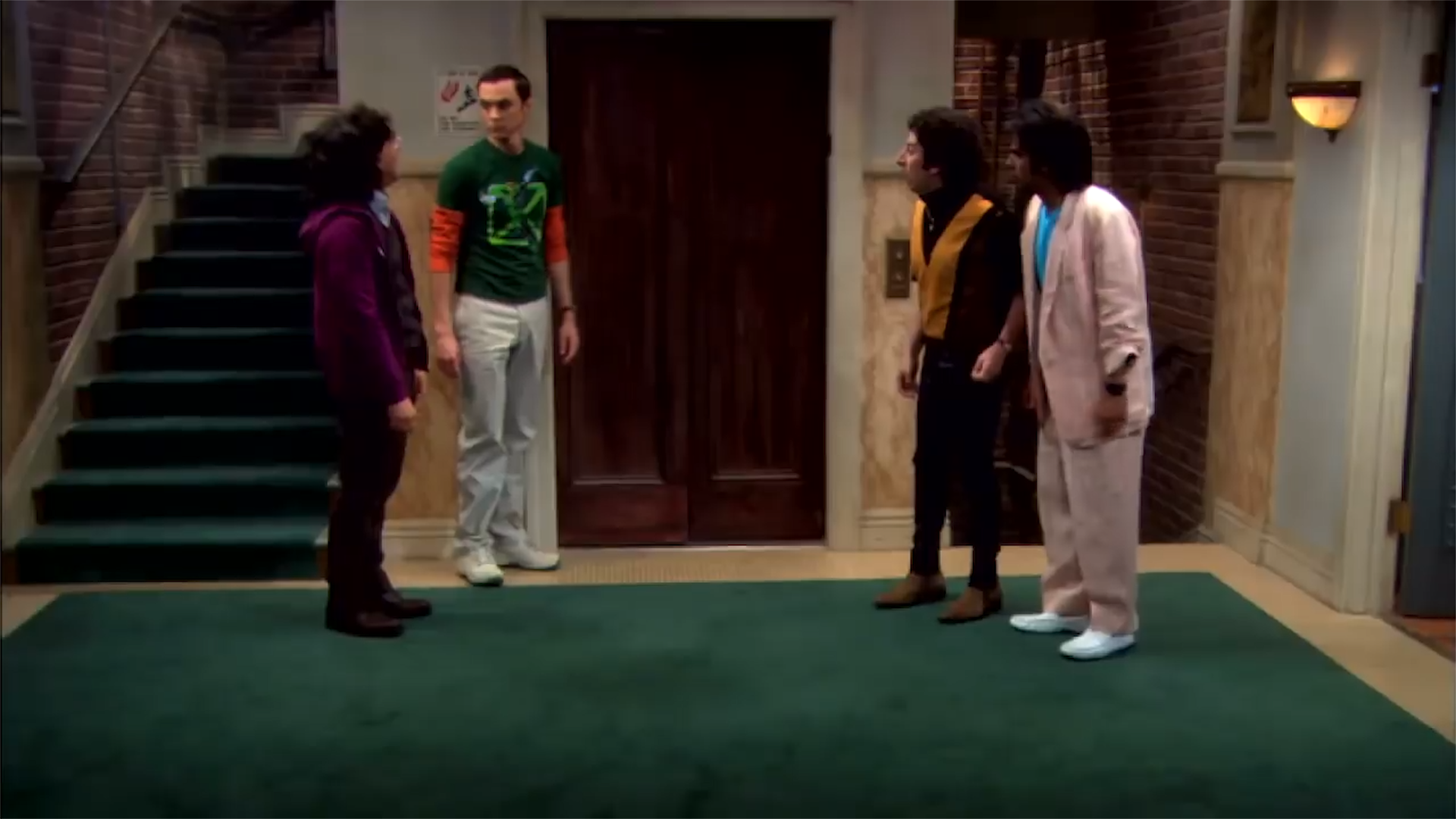 This is why the elevator is out of order on 'The Big Bang Theory'