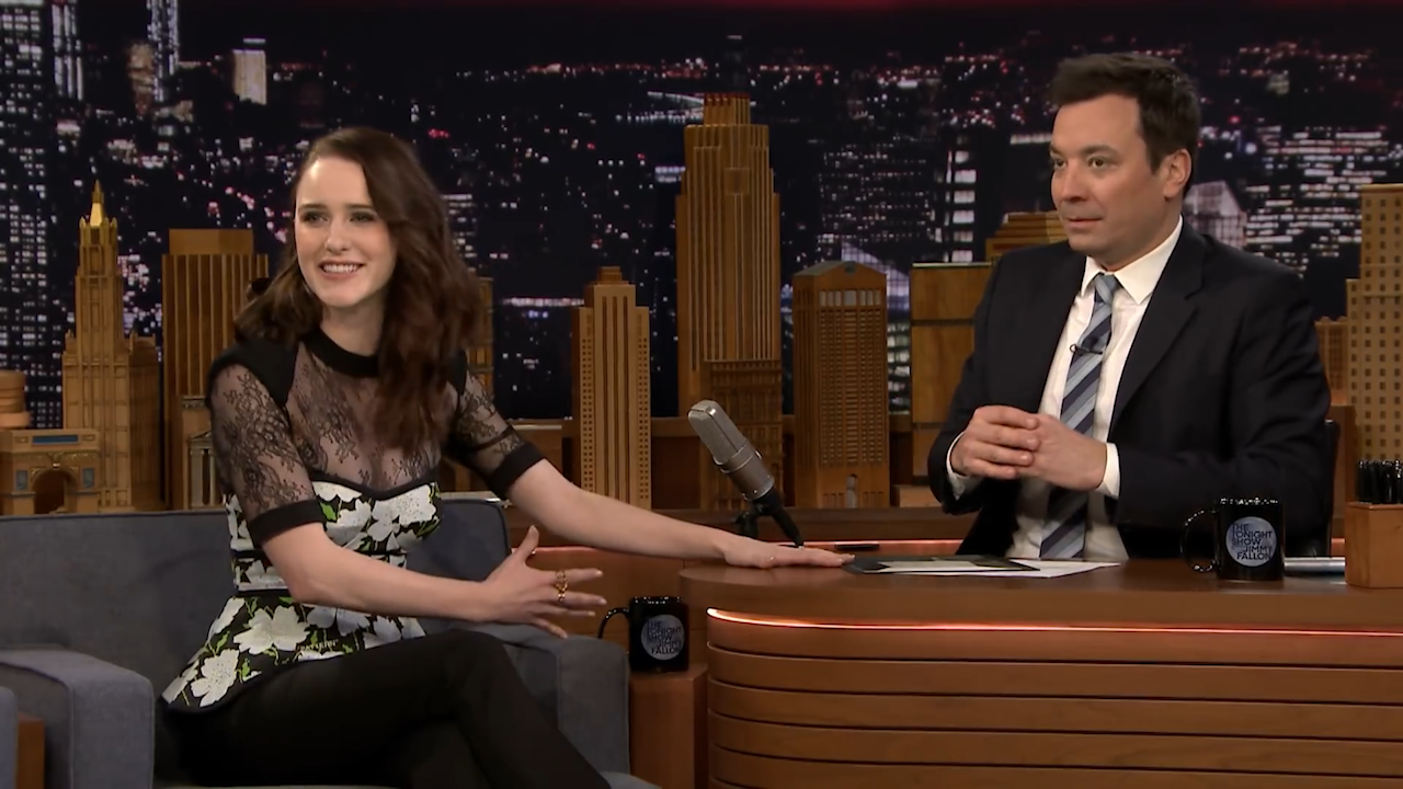 Rachel Brosnahan keeps her Golden Globe in an unexpected spot