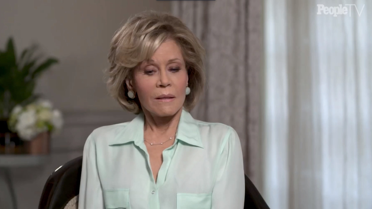 Jane Fonda talks about the death of her mother