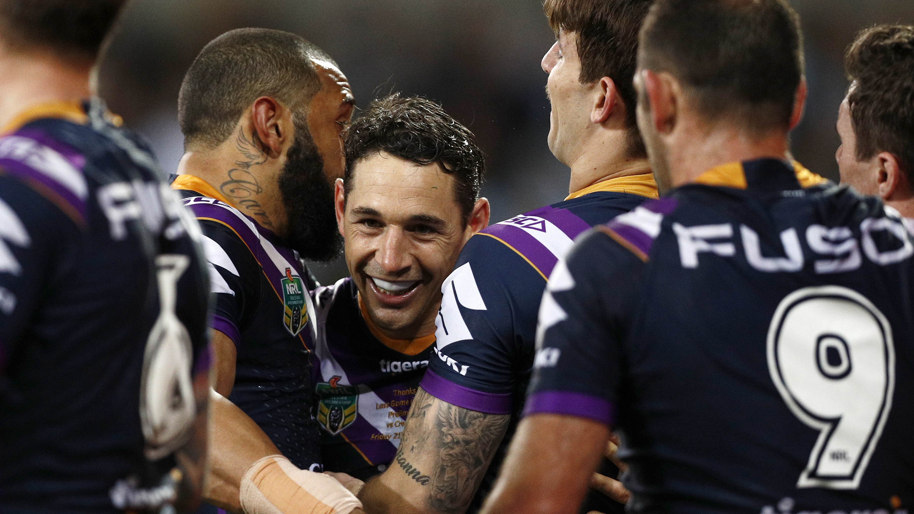 NRL Highlights: Melbourne Storm v Cronulla Sharks - Preliminary Final