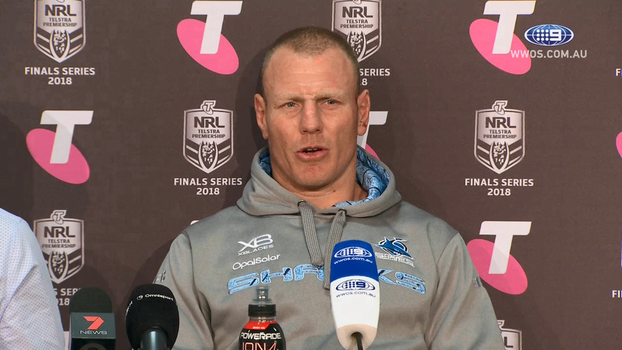 NRL Press Conference: Cronulla Sharks - Preliminary Final