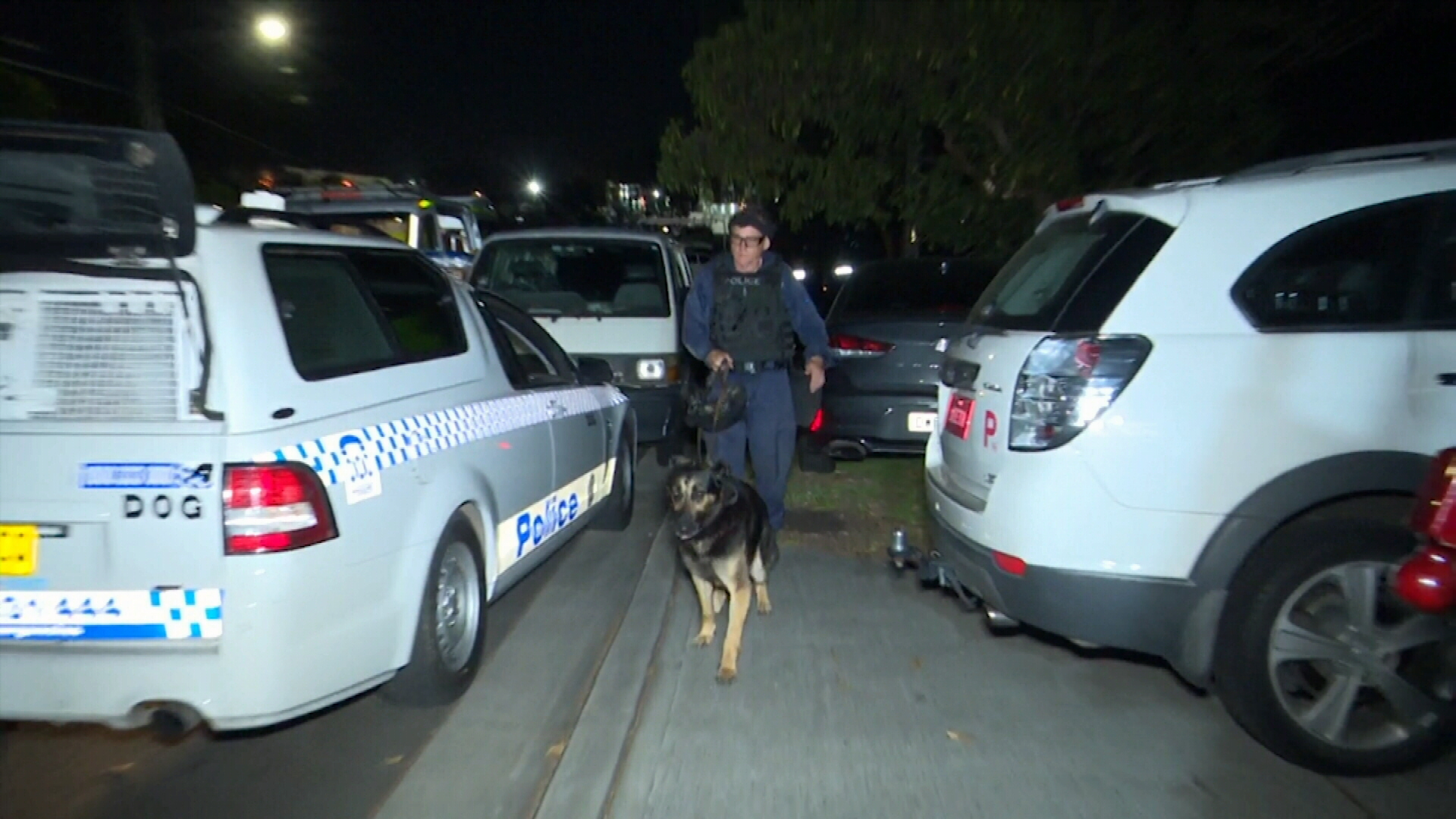 Stand-off in Sydney ends with two arrests