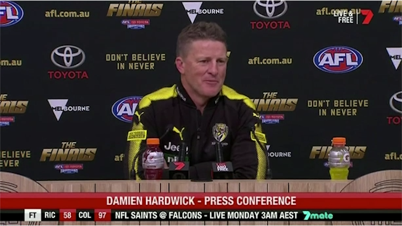 Hardwick defends rusty Dusty