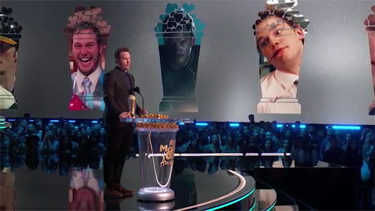 Chris Pratt tells people God is real in MTV Movie and TV Awards speech