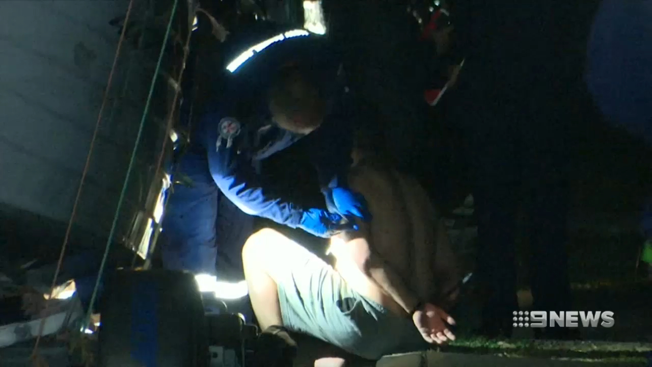 Two people charged in Greenacre siege
