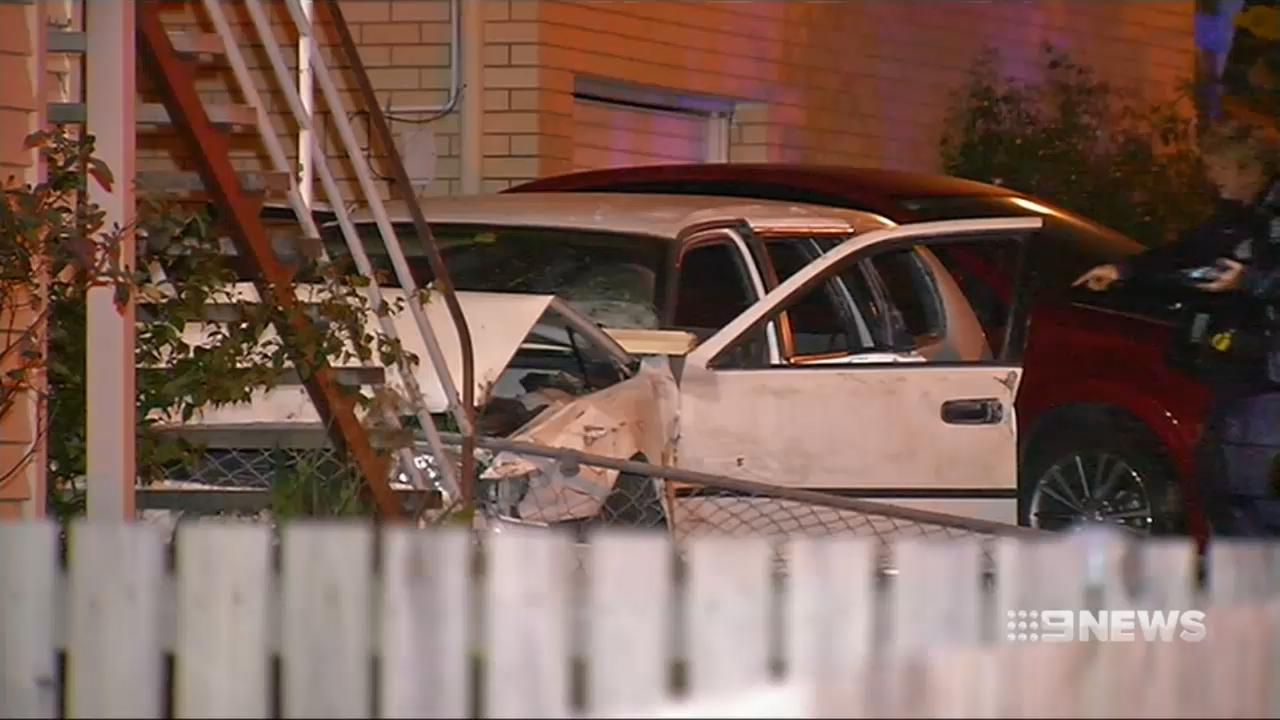 Boy dies in car crash