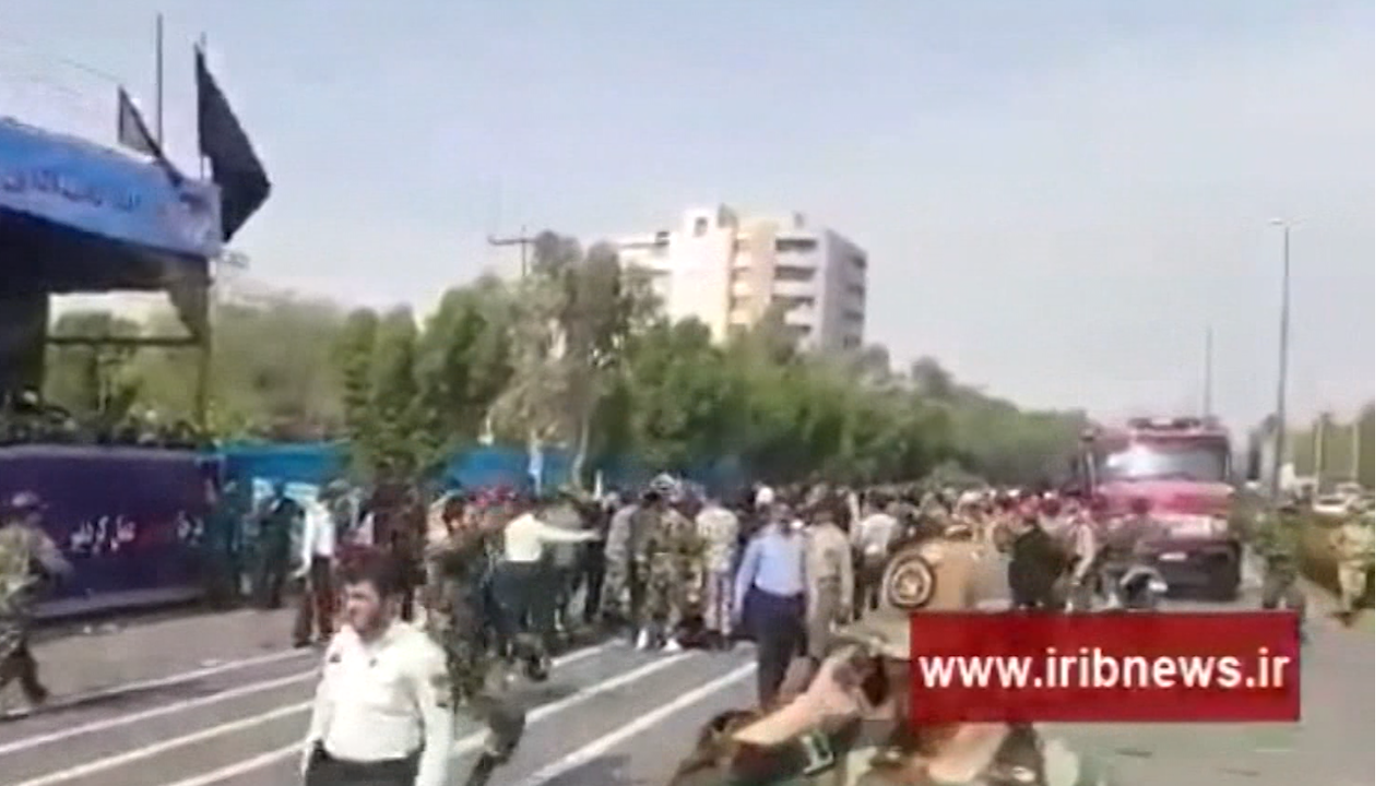 Iran military parade shooting death toll climbs to 25
