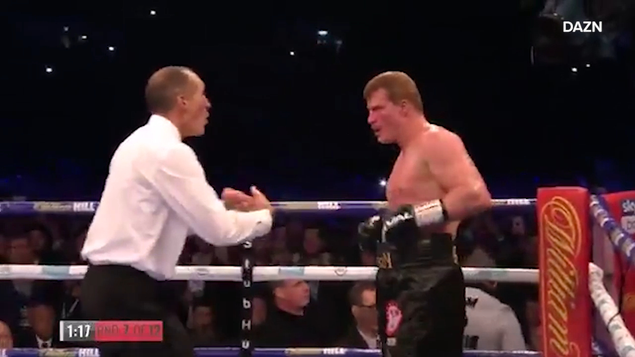 Joshua KO's Povetkin to retain world title