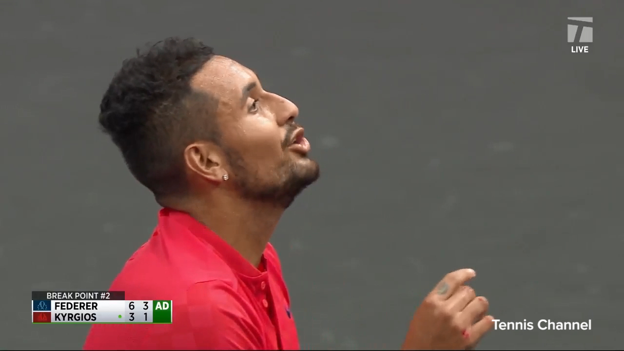 Kyrgios blasts 'delusional' umpire call