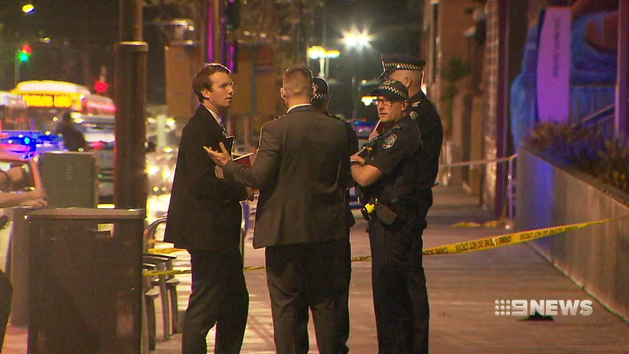 Violent night on Adelaide's streets