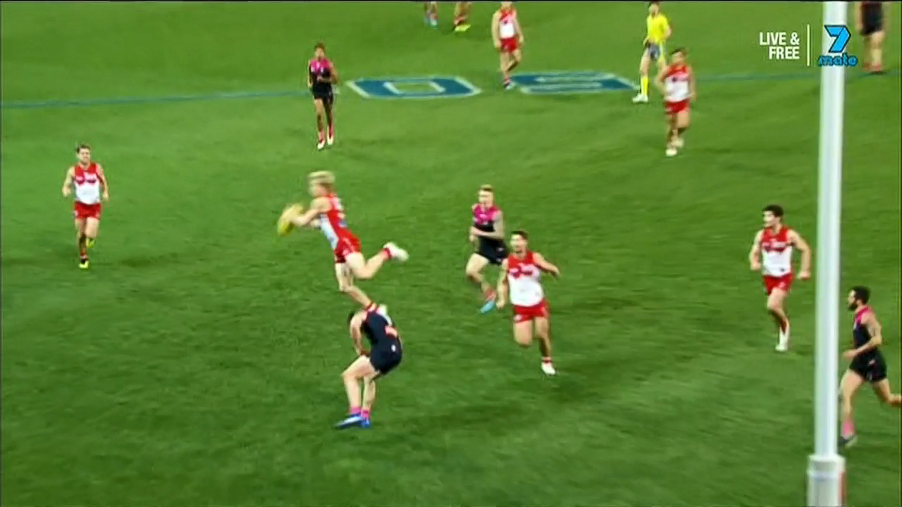 AFL: Mark of the year 2018