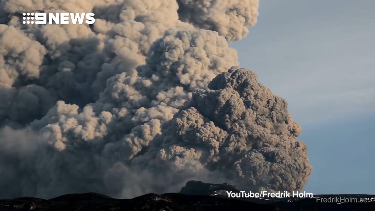 Iceland volcano Eyjafjallajokull erupts in 2010