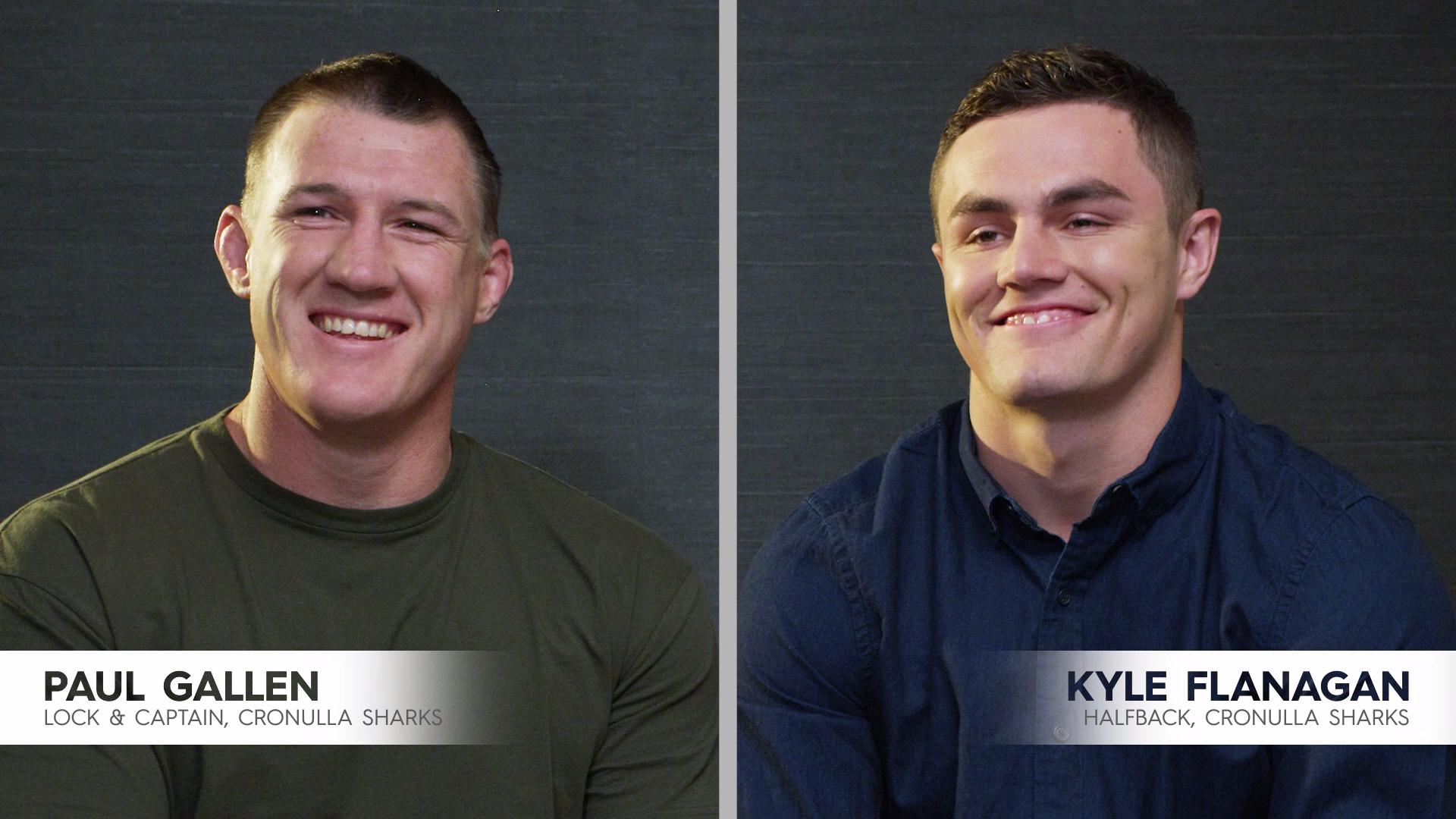 Paul Gallen takes trivia test