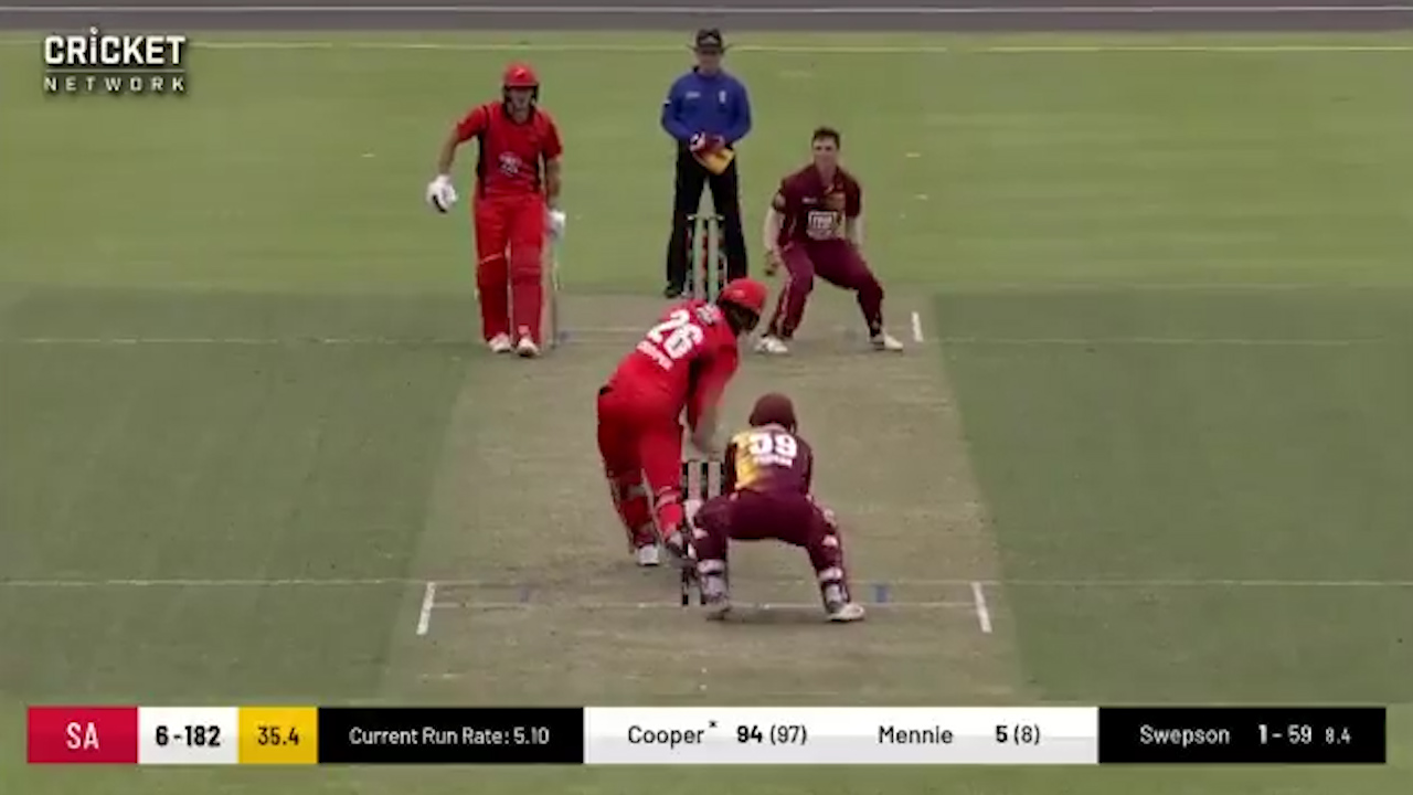 Cooper reaches his century