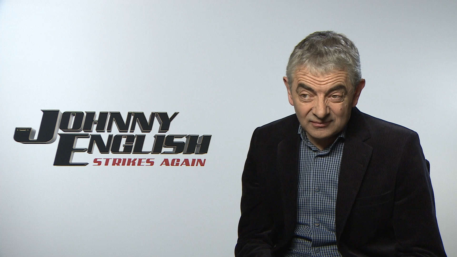 Rowan Atkinson returns to the big screen in Johnny English Strikes Again