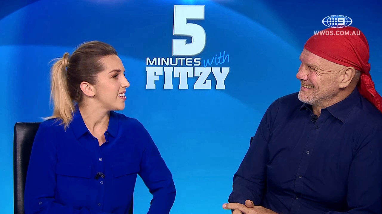 Justice has to be blind: 5 Mins with Fitzy