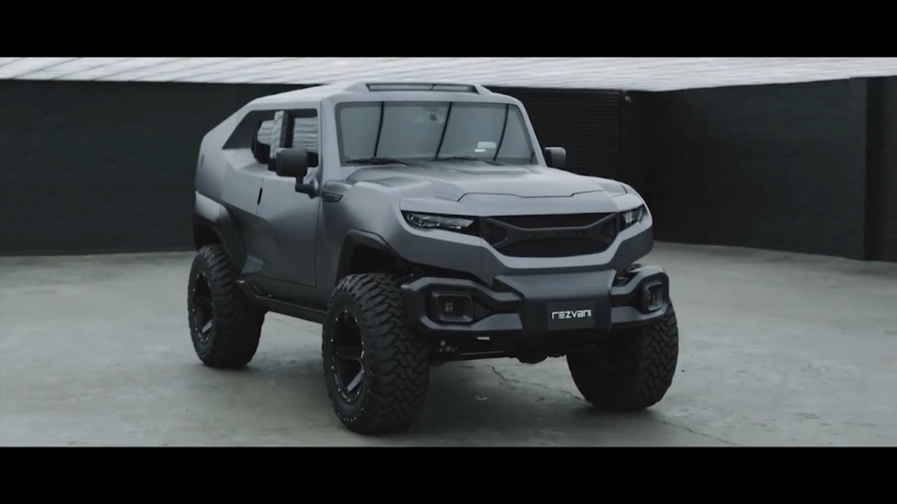 Perfect for road warriors: Rezvani reveals the Tank X