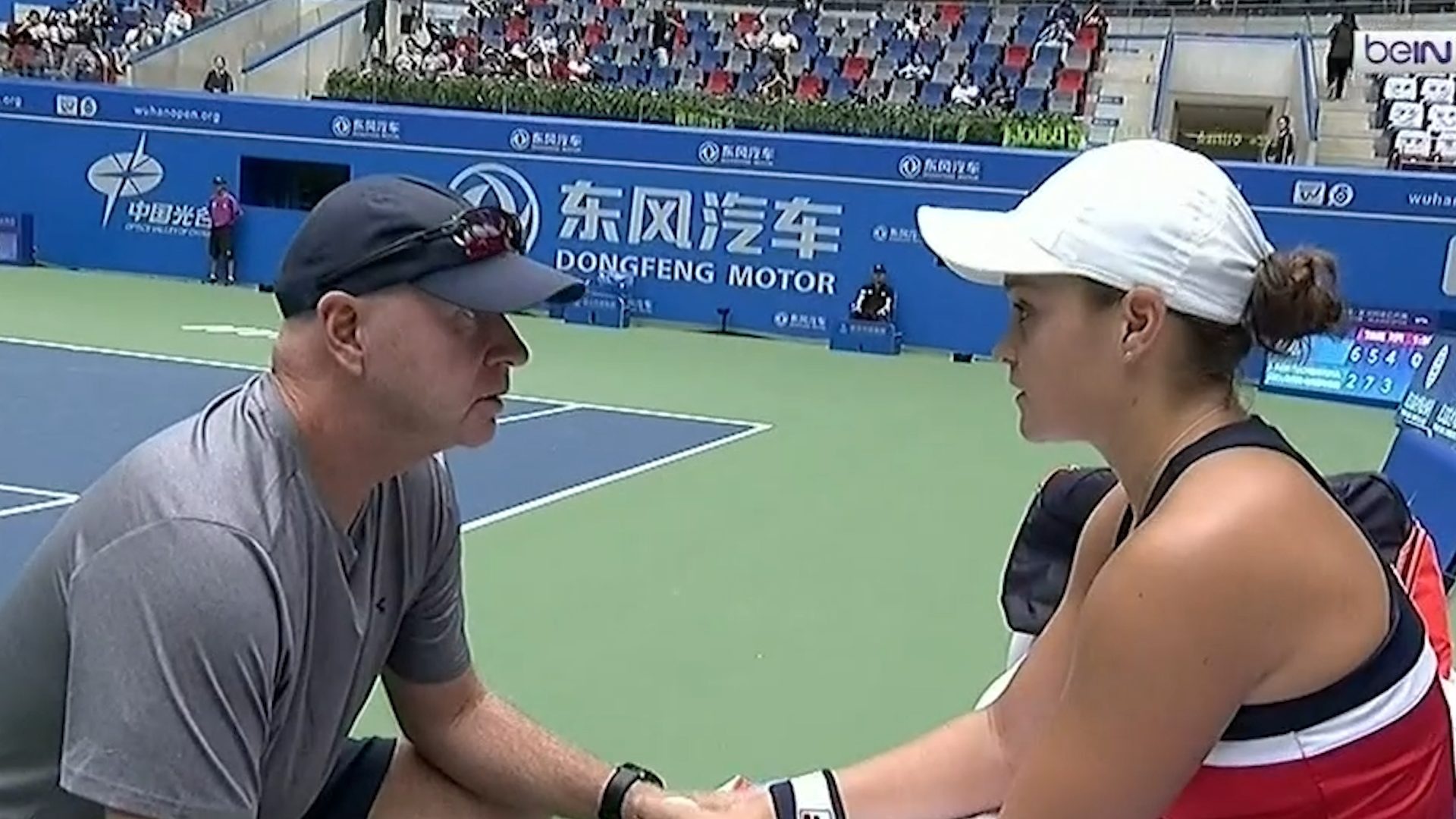 Barty through to semi finals