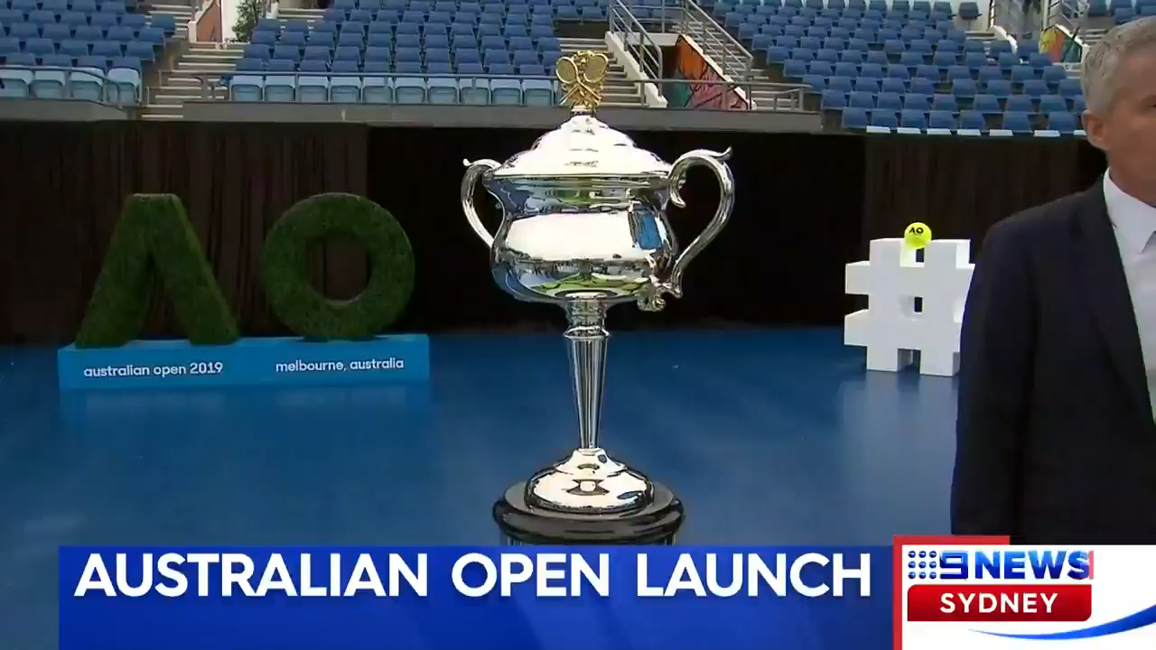 Australian Open Launch
