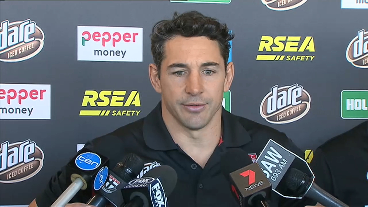 Slater excited about Saints role