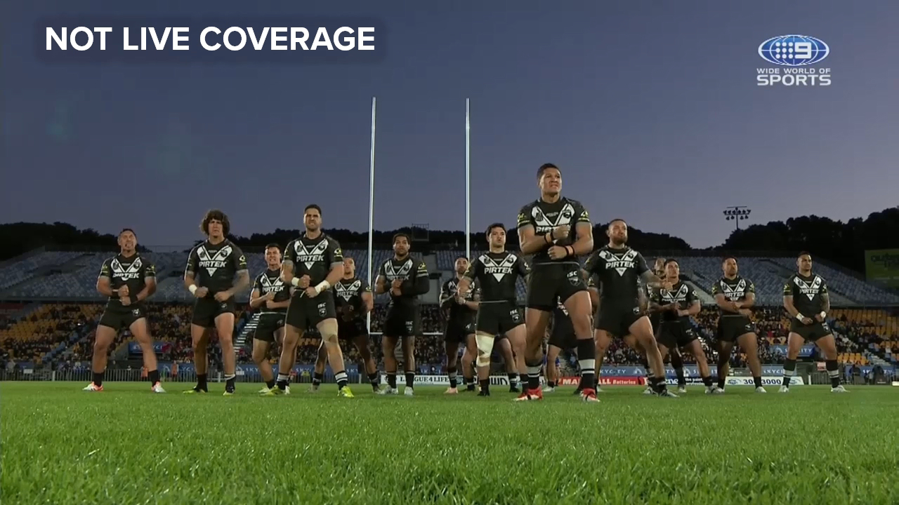 Haka gets Kiwis pumped