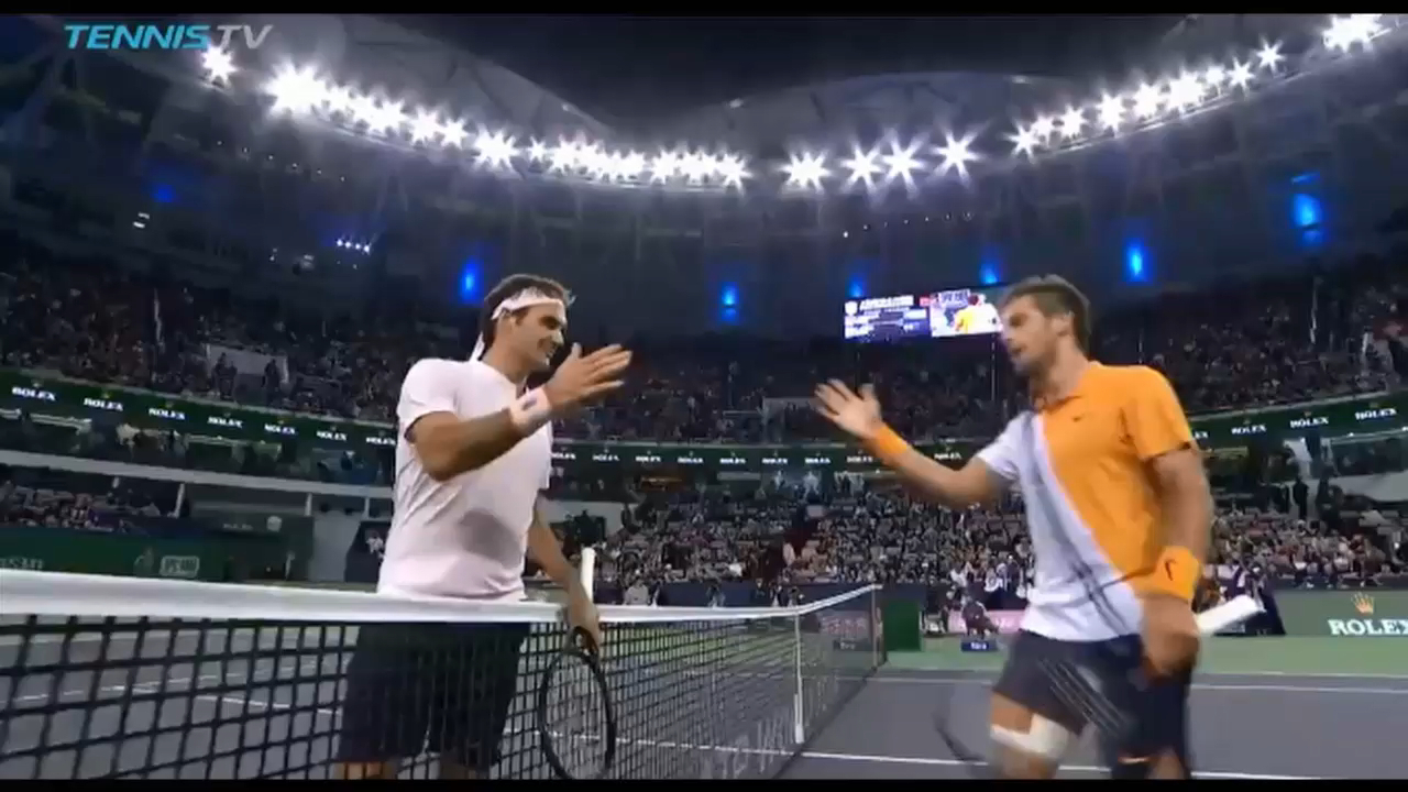 Coric stuns Federer