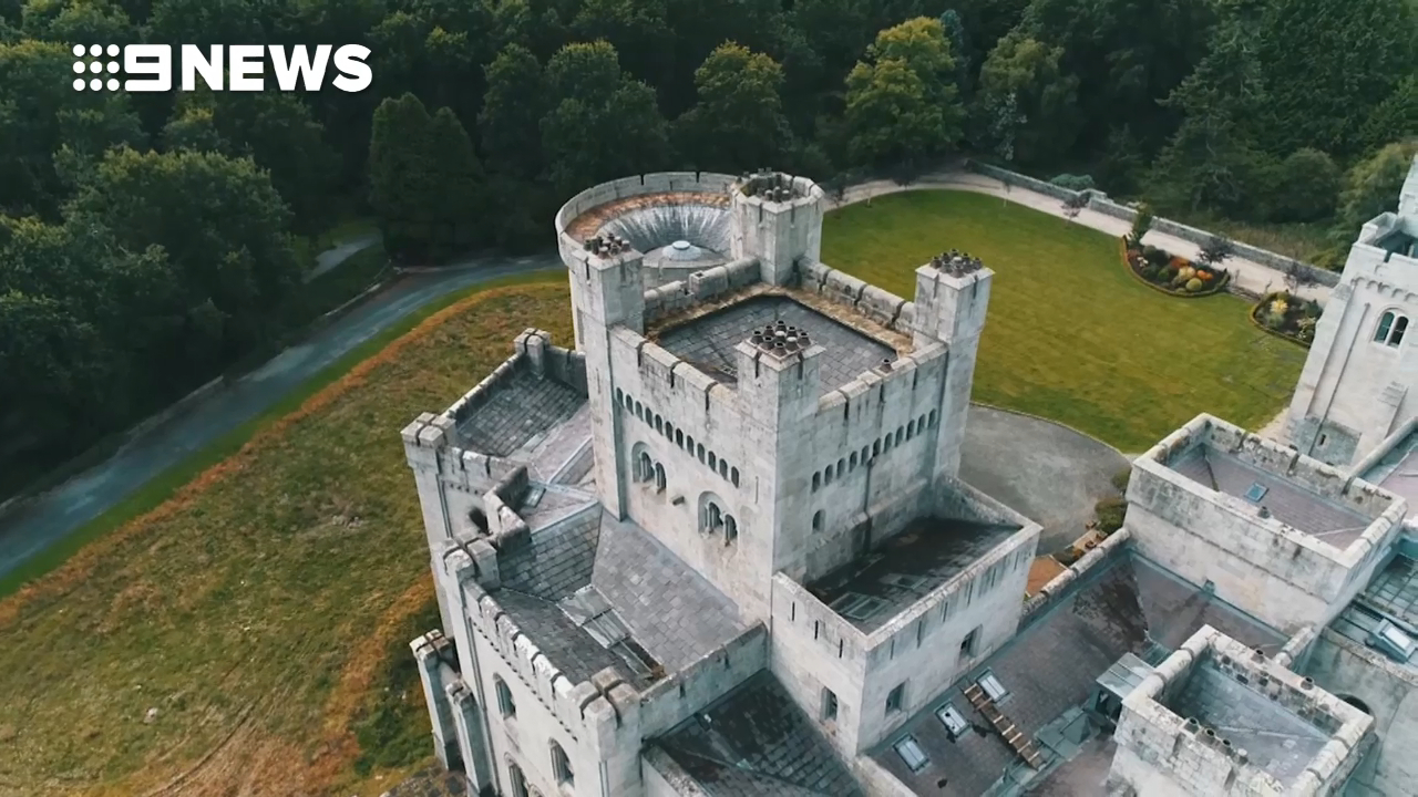 Inside Riverrun castle from Game of Thrones