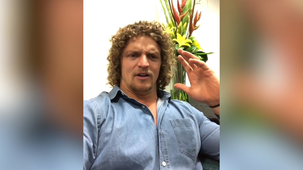 Nick Cummins' message for fans after returning to Australia