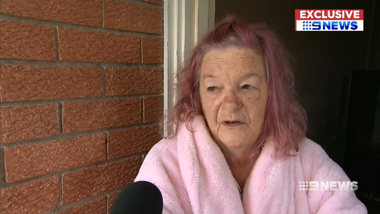 Grandmother saw her dog bashed to death