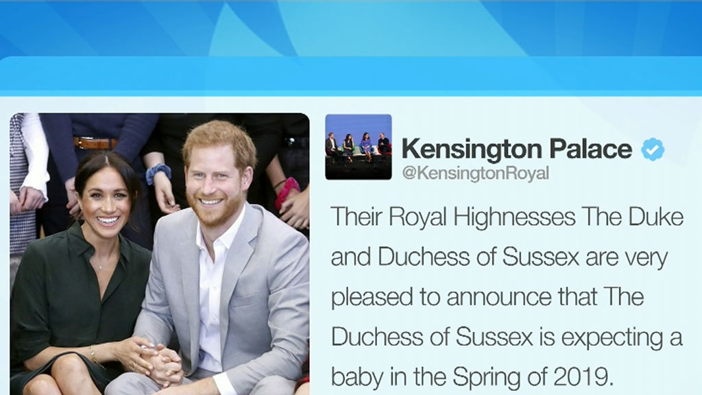New royal on the way