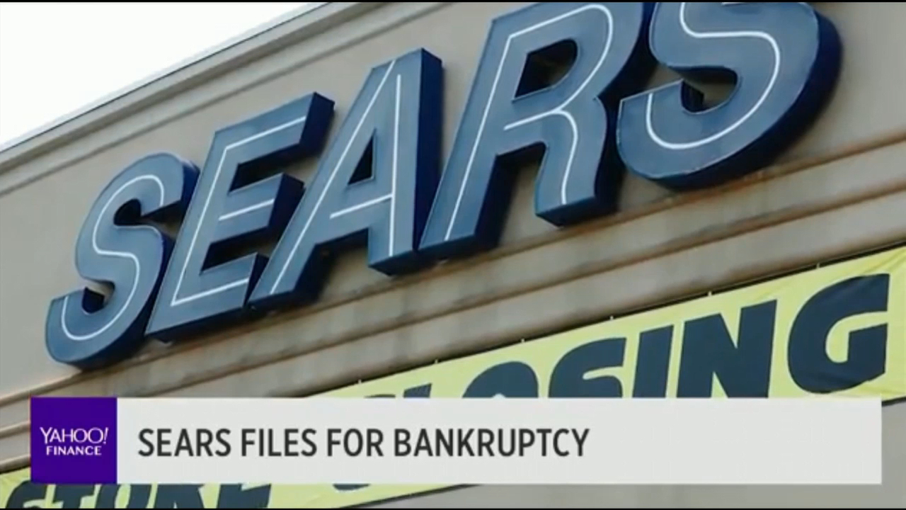 American retail giant files for bankruptcy