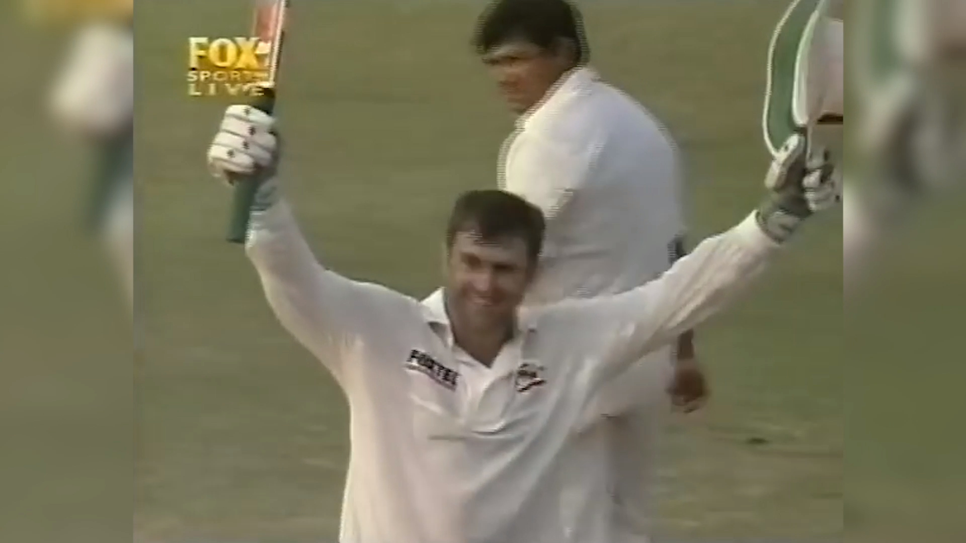 Mark Taylor reaches 300 against Pakistan in 1998