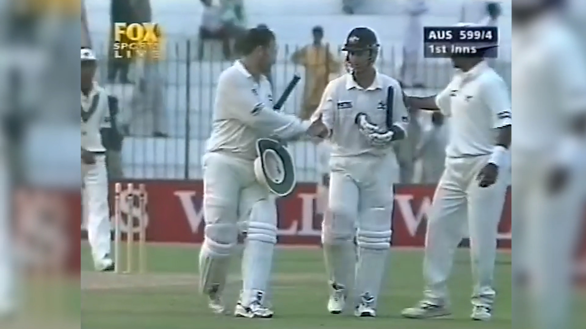 Mark Taylor finishes with 334 against Pakistan in 1998