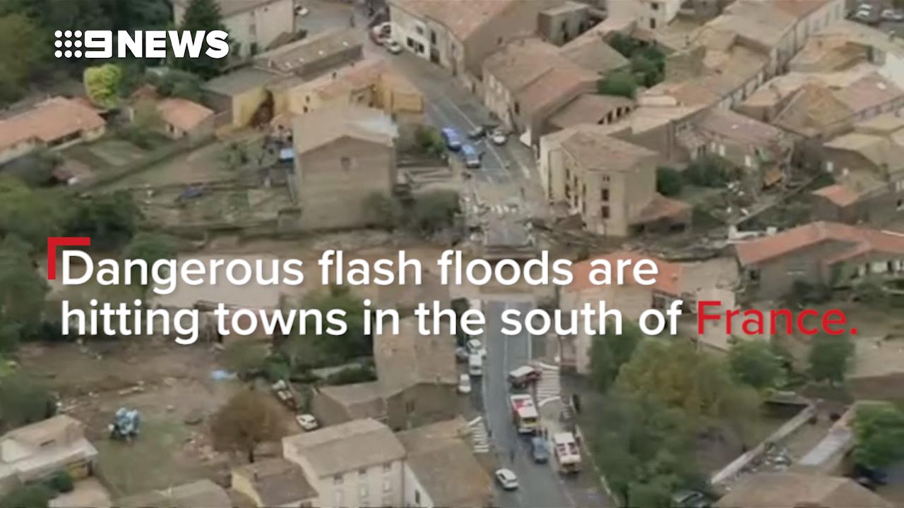 Twelve killed, including nun, in France floods