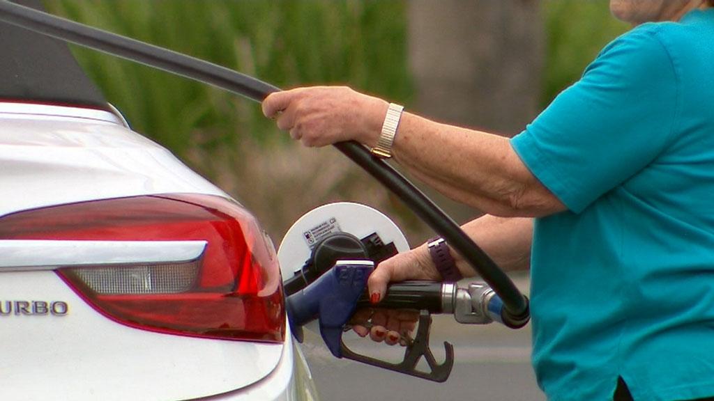 Petrol prices soar