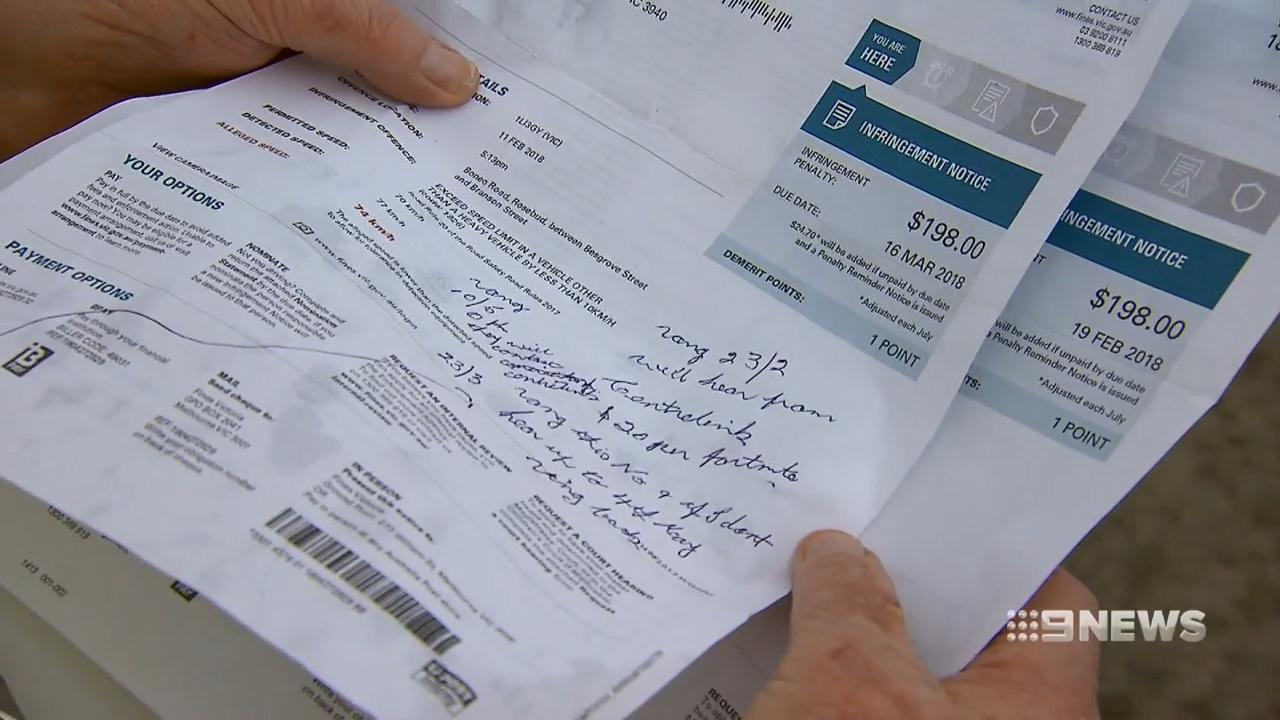 Fines Victoria's multi-million-dollar bungle