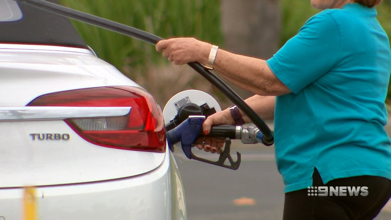 Petrol prices at a four-year high